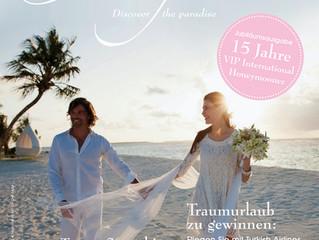 Die neueste Ausgabe des VIP International Honeymooner