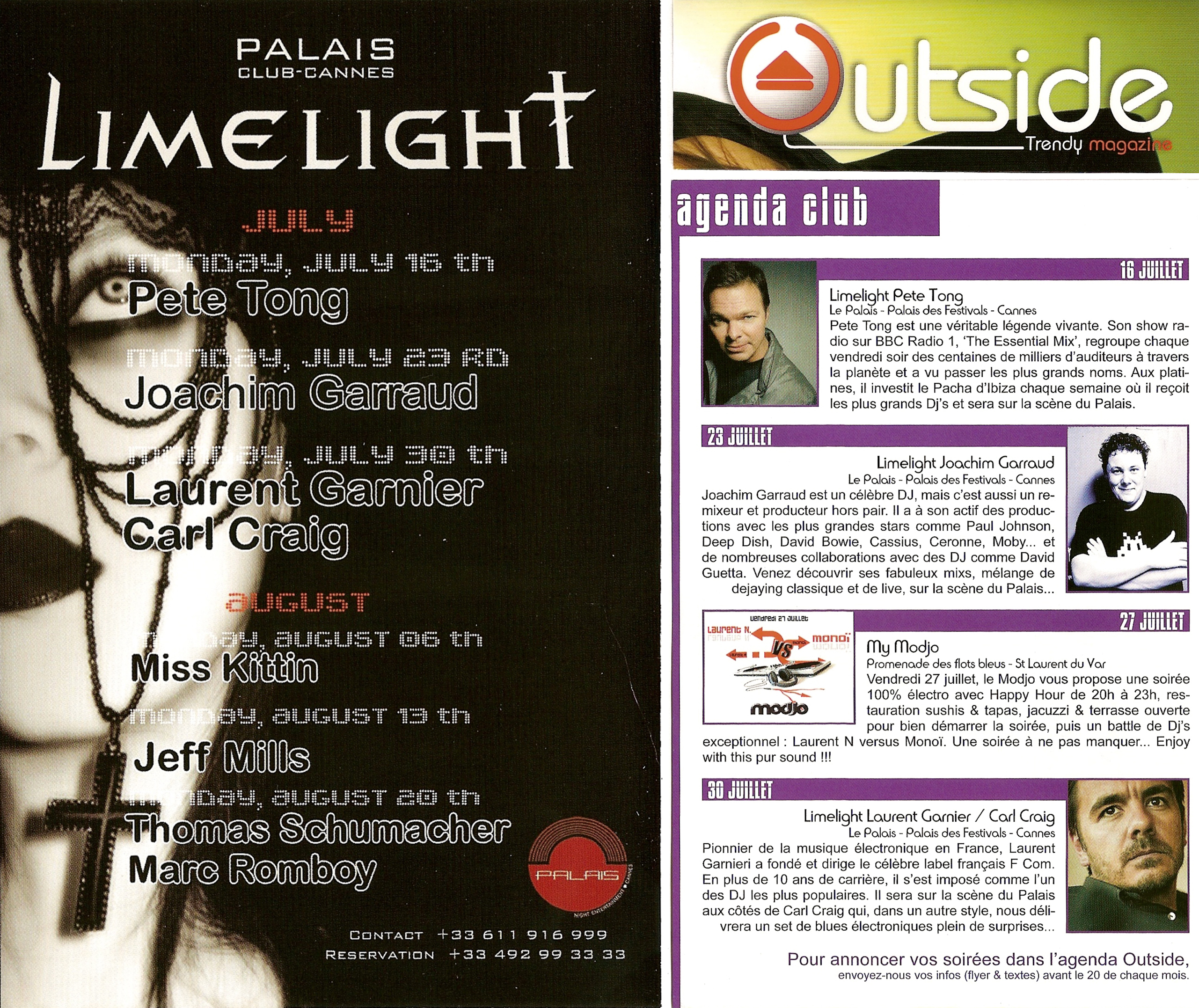 2007 OUTSIDE PALAIS LIMELIGHT
