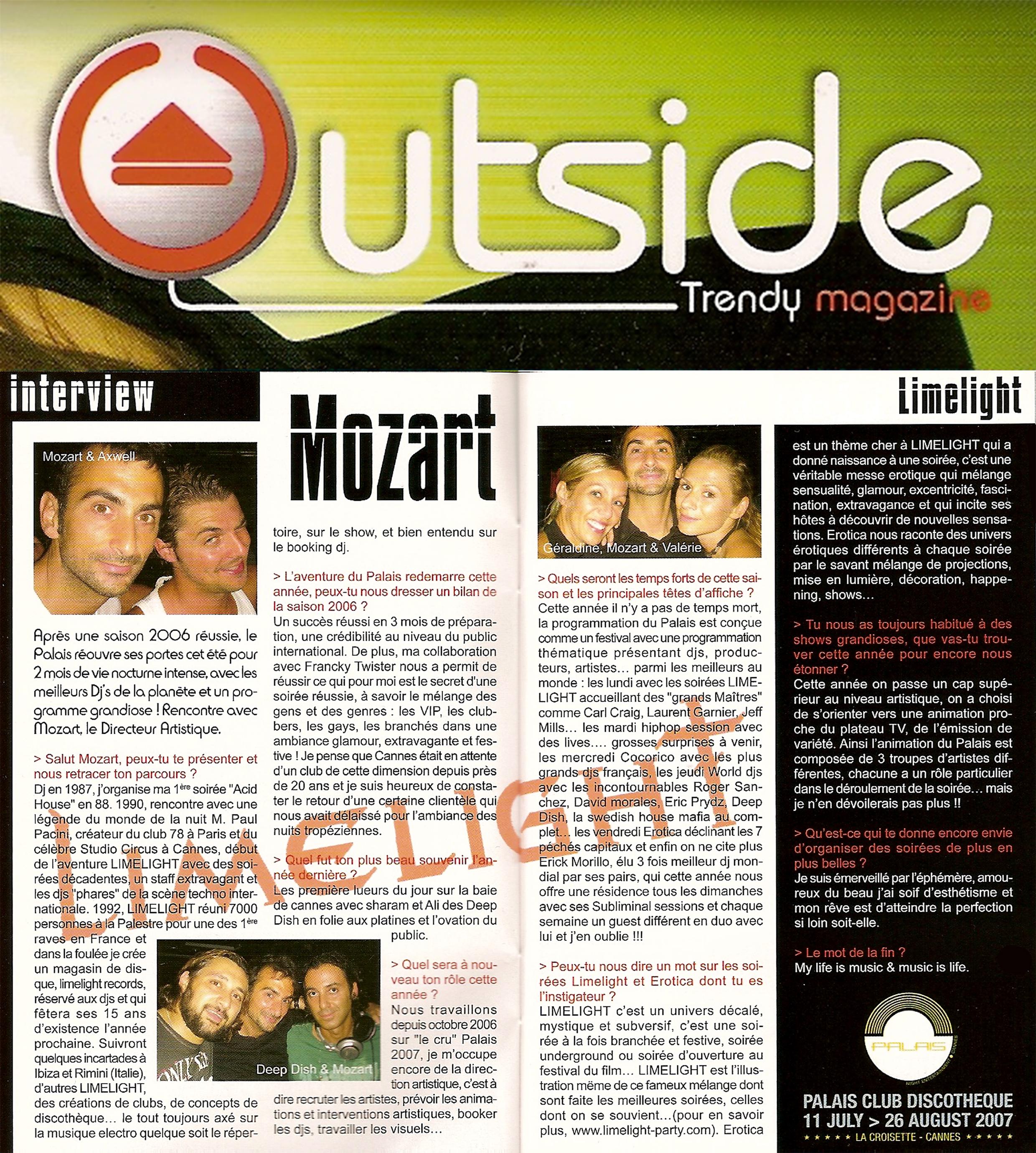 2007 OUTSIDE Juillet