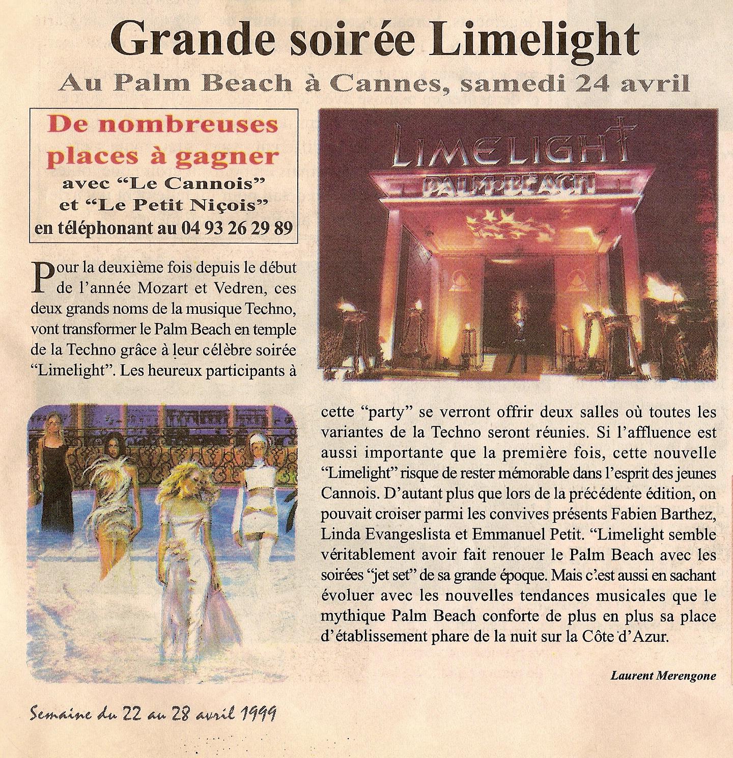 1999 LE NICOIS
