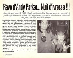 1991 COTE MAGAZINE Decembre