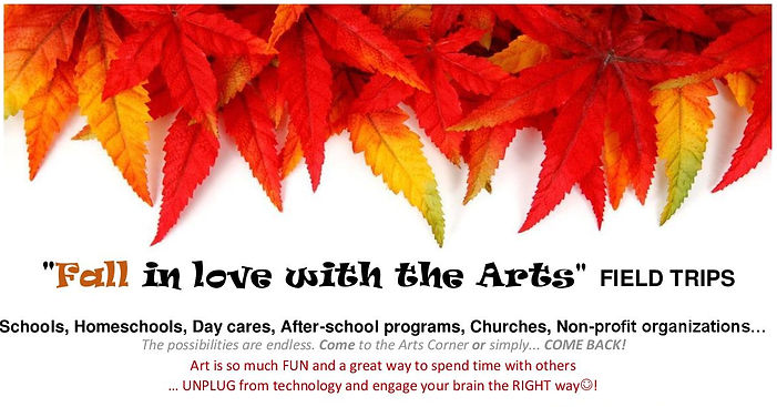 Fall in love with the Arts 2018-2019 fie