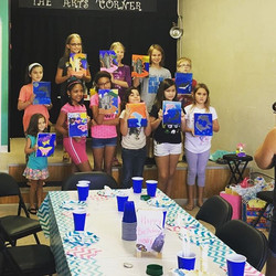 Birthday pARTis at The Arts Corner are always a good time! Whether it's for kids or adults