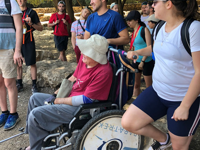 Birthright Canada hike Meron