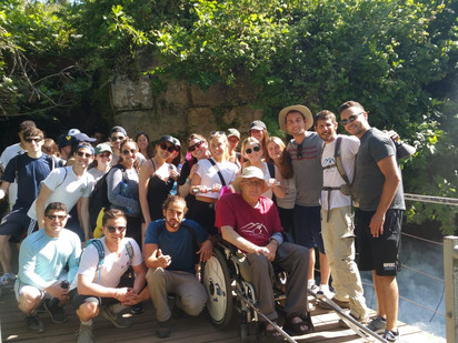 "Let's Hike the Banias - ""Amazing Israel"" meet Shmulik Zur"