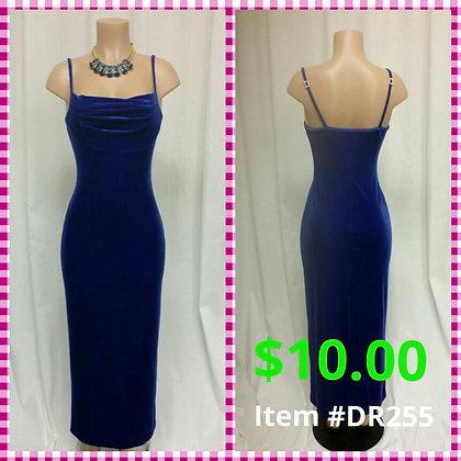 Item # DR255 Royal Blue Dress