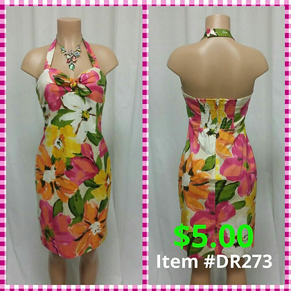 Item # DR273 Flower Dress