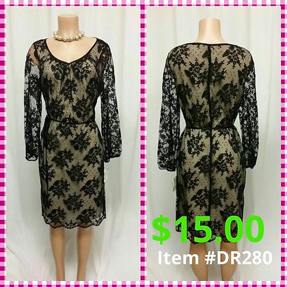 Item # DR280 Black Lace
