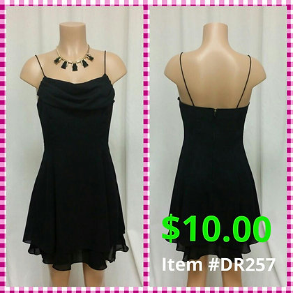 Item # DR257 Black Dress