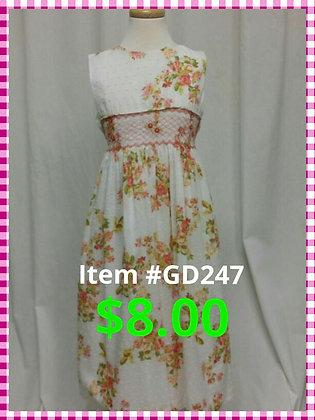 Item # GD247 Flower Dress