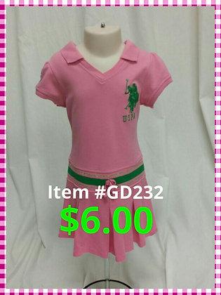 Item # GD232 Pink Dress