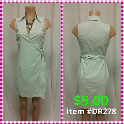 Item # DR278 Green Dress