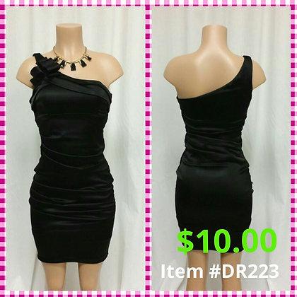 Item # DR223 Black Party Dress