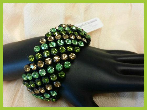 Green Multi Stone Bracelet