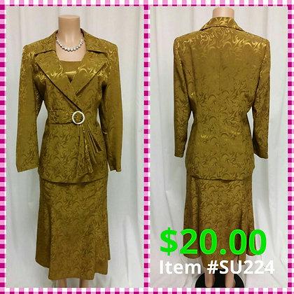 Item # DR224 Bronze Suit