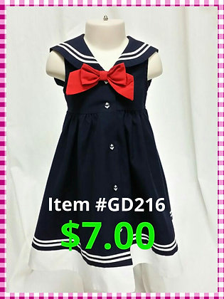Item # GD216 Sailor Dress