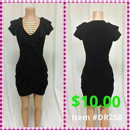 Item # DR258 Black Dress