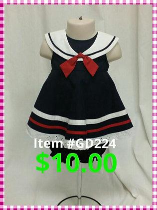 Item # GD224 Sailor Dress