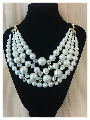 Pearls with Rhinestone Accents