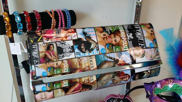 Large Magazine Clutch Purse