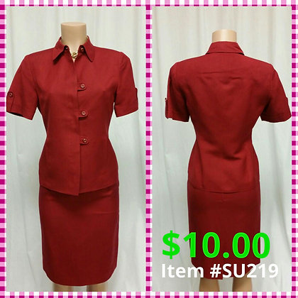 Item # DR219 Red Suit