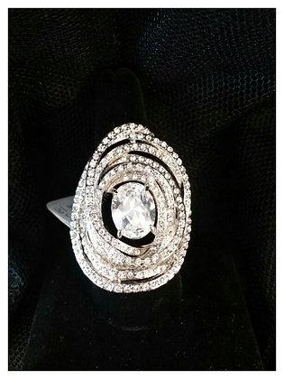 Large CZ Ring