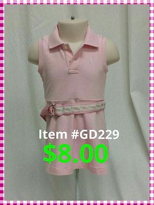 Item # GD229 Polo Dress
