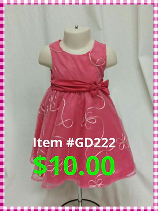 Item # GD222 Pink Dress