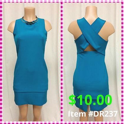 Item # DR237 Aqua Dress