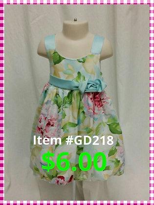 Item # GD218 Flower Dress