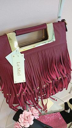 Pink Tassel Handbag