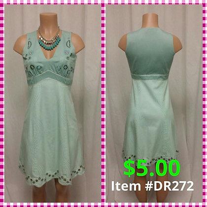 Item # DR272 Green Dress