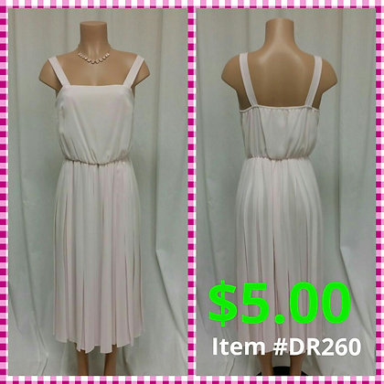 Item # DR260 Pink Dress