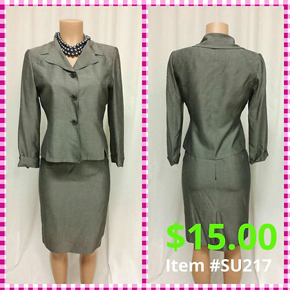 Item # DR217 Gray Suit
