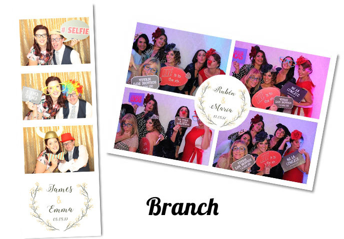 Photobooth template Branch