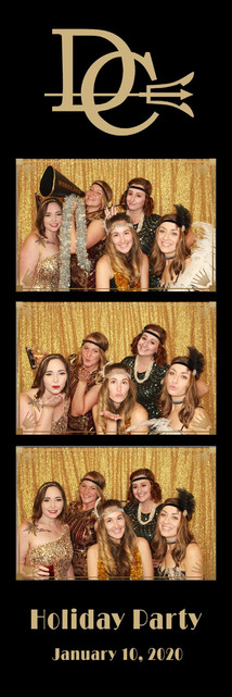 Christmas party photobooth