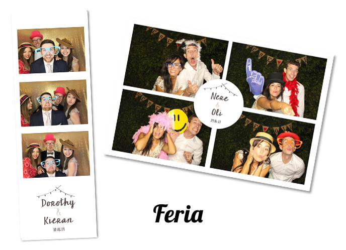 Wedding photobooth Template Feria