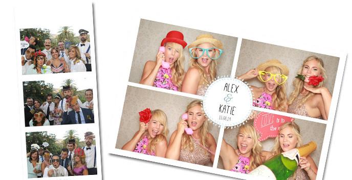 Photobooth template Blue