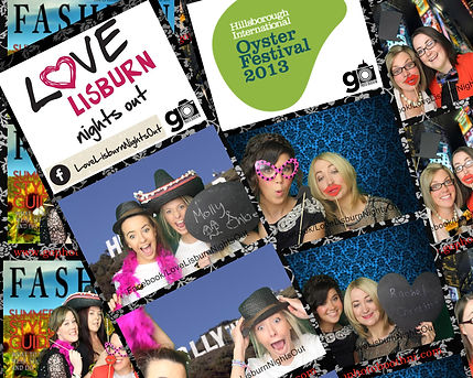 Corporate photo booth hire for event