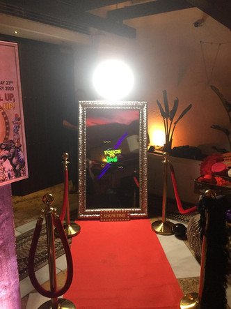 Magic Mirror theme party