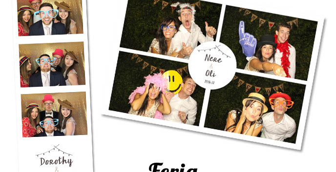 Photobooth template Feria