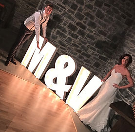 Marquee letters for hire NI