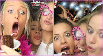 GO photo booth hire for formals and events