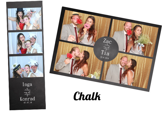 Photobooth template Chalk