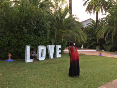 LOVE Finca concepción