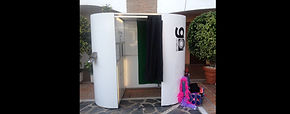 Modern touch screen photo booth for hire