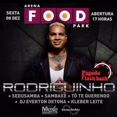 Pagode Flash Back com Rodriguinho @a
