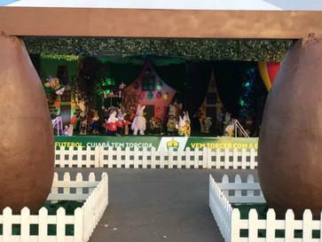 Parque de Cuiabá oferece decoração especial para celebrar a Páscoa