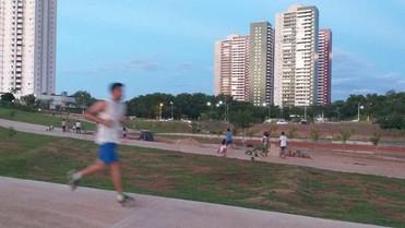 Mesmo com obra por terminar, população já faz uso do Parque da Família