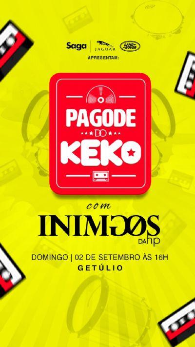 Pagode do Keko com Inimigos da HP @g